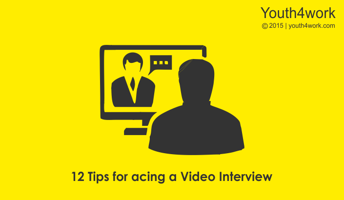 12 Tips for acing a Video Interview for your dream job