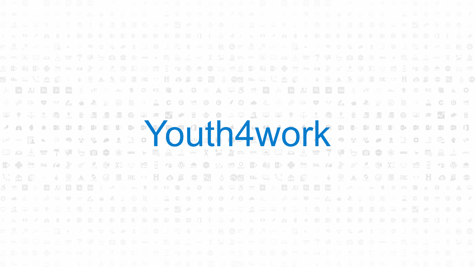 Youth4work Color Palette